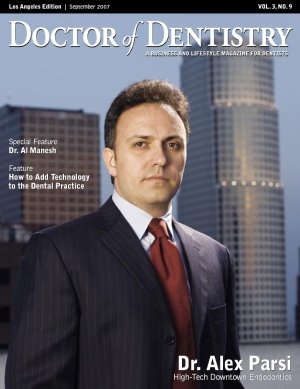 Dr. Parsi in Doctor of Dentistry